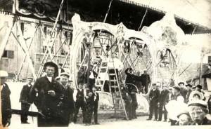 Bootjesschommel gebouwd door Takkenberg uit Edam.